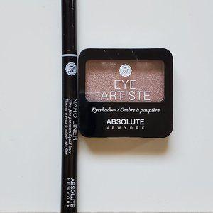 Absolute Lot-POSSE EyeShadow & BLACK Nano Liner